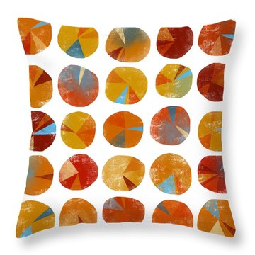 Pies Are Squared Throw Pillow by Nic Squirrell