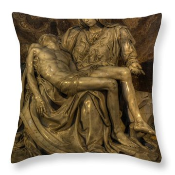 Pieta Throw Pillow