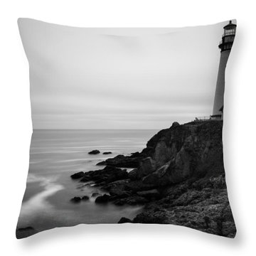 Pigeon Point Throw Pillow by Tassanee Angiolillo