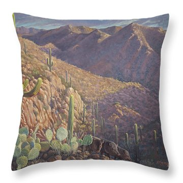 Pigs And Needles Throw Pillow