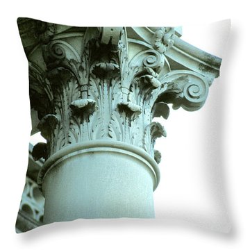 Pilar Of Strength  Throw Pillow by Jon Neidert