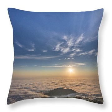 Pilchuck West 2 Throw Pillow