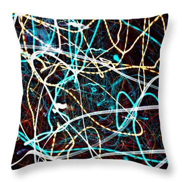 Pilgimage Of Lights 2 Throw Pillow