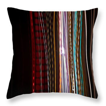 Pilgrimage Of Lights 1 Throw Pillow