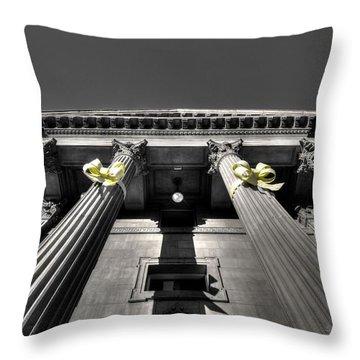 Throw Pillow featuring the photograph Pillard by David Andersen