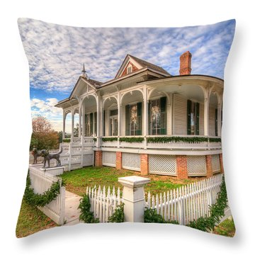 Pillot House Throw Pillow
