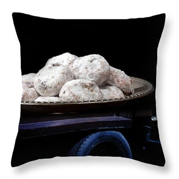 Throw Pillow featuring the photograph Pin Up Cars - #5 by Gunter Nezhoda