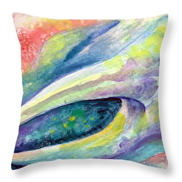 Pinch Of Crab Throw Pillow