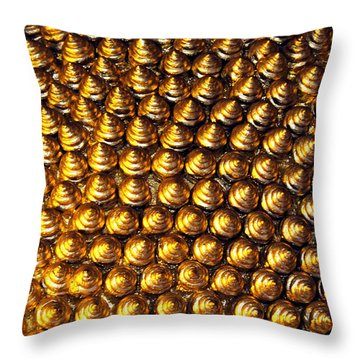 Pincushion Throw Pillow by Justin Woodhouse