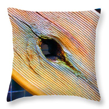 Throw Pillow featuring the photograph Pine by Cassandra Buckley