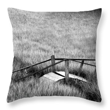 Pine Creek Bridge Throw Pillow