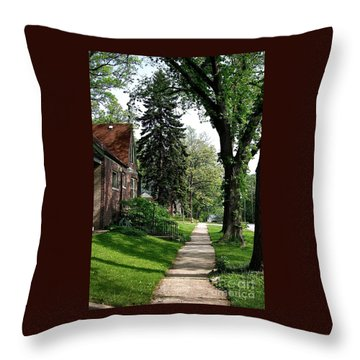 Pine Road Throw Pillow