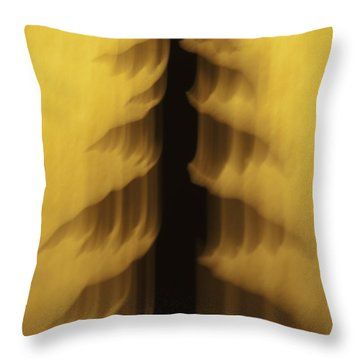 Pine Tree Abstract 2 Throw Pillow by Sherri Meyer