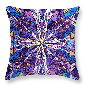 Pineal Opening Throw Pillow