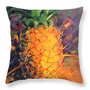 Pineapple Explosion Throw Pillow