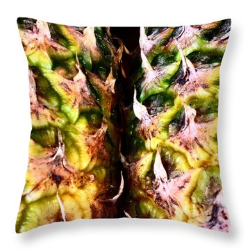 Pineapples Throw Pillow by Jason Michael Roust
