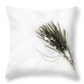 Throw Pillow featuring the photograph Pining by Courtney Webster