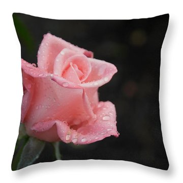 Pink Elegance Throw Pillow