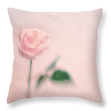 pink moments II Throw Pillow
