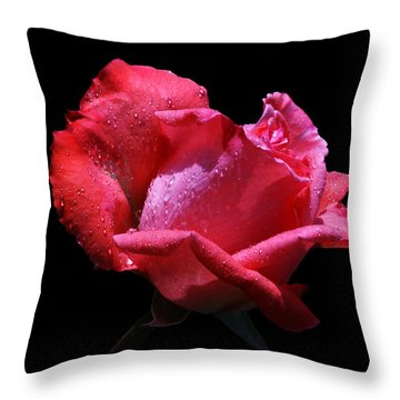 Throw Pillow featuring the photograph Pink Panther by Doug Norkum