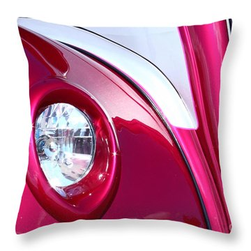 Throw Pillow featuring the photograph Pink Passion by Linda Bianic