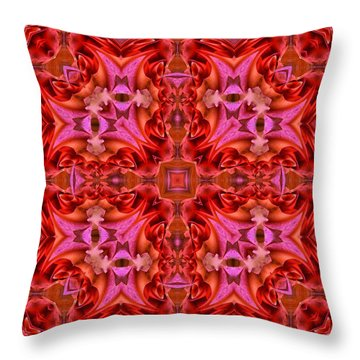 Pink Perfection No 1 Throw Pillow