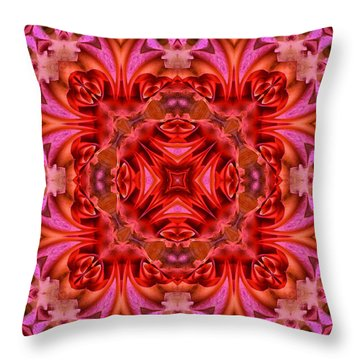 Pink Perfection No 2 Throw Pillow