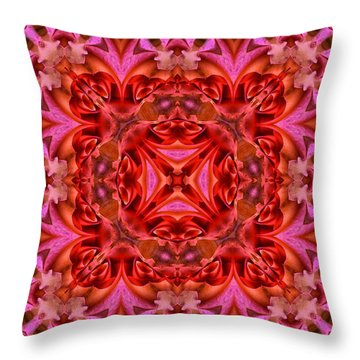 Pink Perfection No 3 Throw Pillow