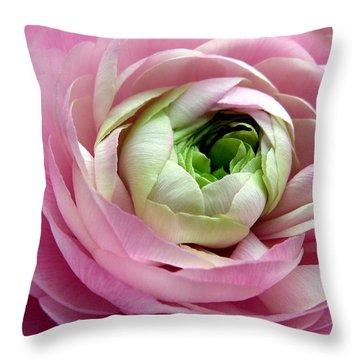 Pink Petticoat  Throw Pillow
