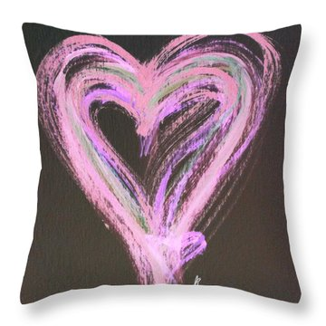 Pink Rules Throw Pillow