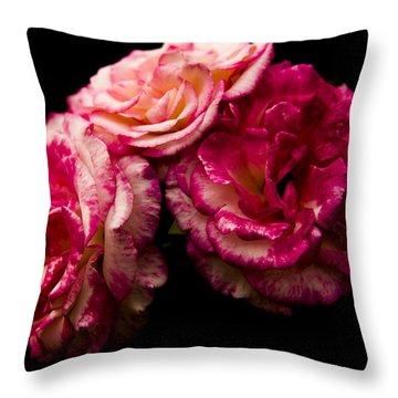 Pink Solitude Throw Pillow
