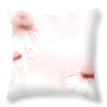 Pink Sonata  Throw Pillow