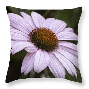 Pink Summers Throw Pillow