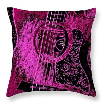 Pink Taylor Throw Pillow