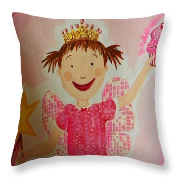 Pinkalicious Throw Pillow