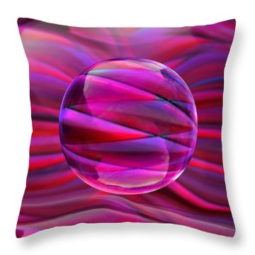 Pinking Sphere Throw Pillow