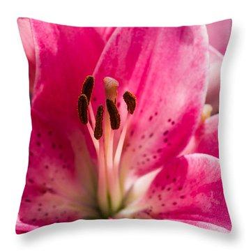Pinky Swear 2 - Featured 3 Throw Pillow by Alexander Senin
