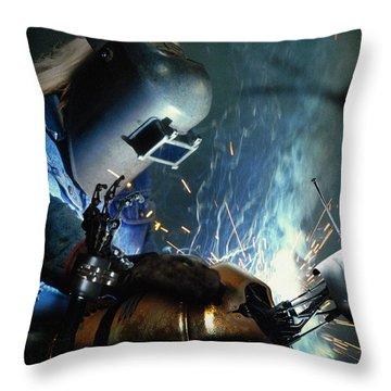 Pinocchio Throw Pillow by Alessandro Della Pietra