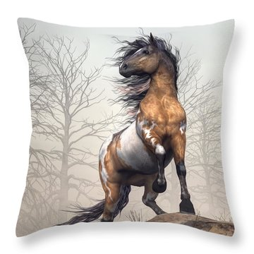 Pinto Throw Pillow