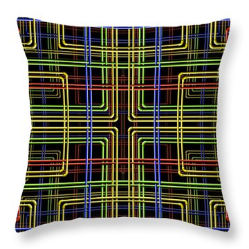 Pipe Dreams 3 Throw Pillow by Mike McGlothlen