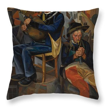 Pipe Players Throw Pillow