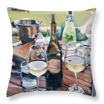 Pippin Hill Picnic Throw Pillow
