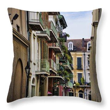 Pirates Alley Throw Pillow