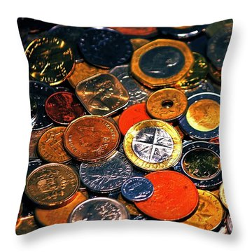 Pirates Plunder Throw Pillow by Benjamin Yeager