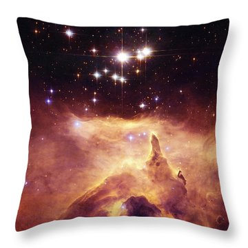 Pismis 24-1 Ngc 6357 Throw Pillow