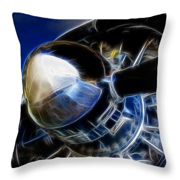 Pistons Firing Throw Pillow