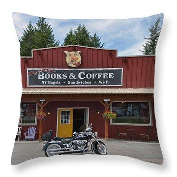 Java Stop Throw Pillow