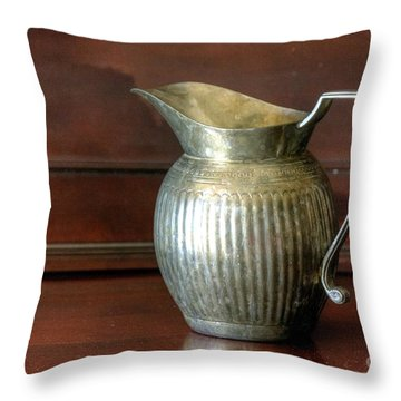 Pitcher Throw Pillow by Chris Anderson