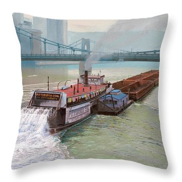 Pittsburgh Throw Pillows