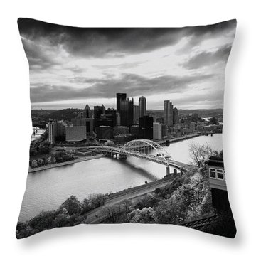 Pittsburgh Skyline1 Throw Pillow